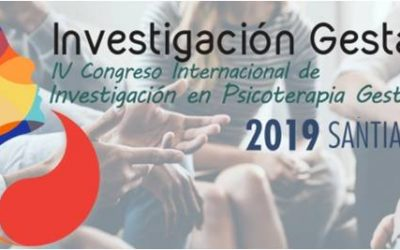 Congreso Internacional de Investigación en Psicoterapia Gestalt, 2019. Santiago
